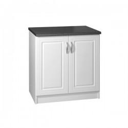 meuble bas cuisine 2 portes 90 cm dina