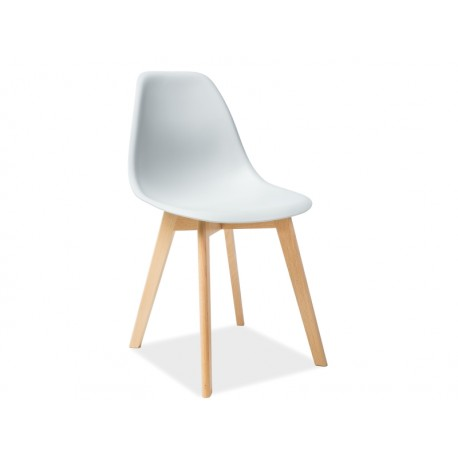 chaise scandinave moris pieds bois de hetre