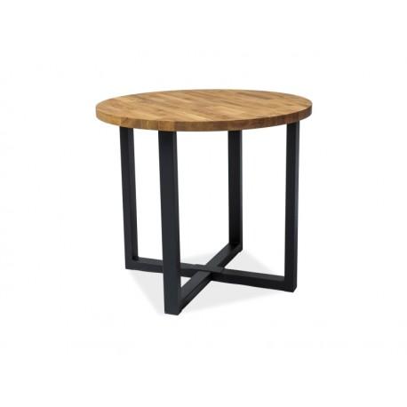 table ronde en chene rolf