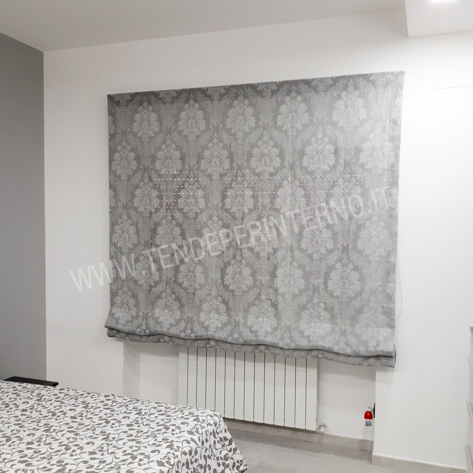 Blanc mariclo' tendina a pacchetto in lino serie turandot cm 45x160 h. Tenda A Pacchetto Roma Cod 0017 Tende Per Interno