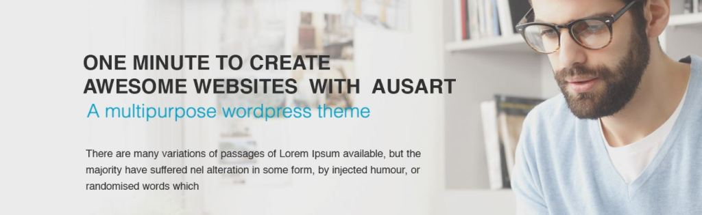 ausart wordpresss theme