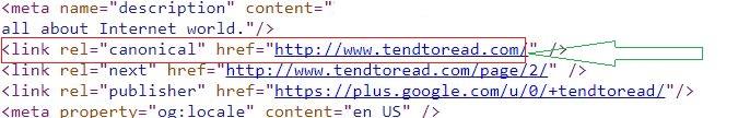 cannonical URLs