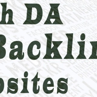 High da backlinks websites
