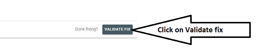 Validate noindex submitted URLs