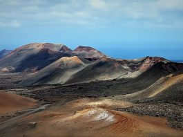 Il paesaggio vulcanico del Parco Nazionale di Timanfaya