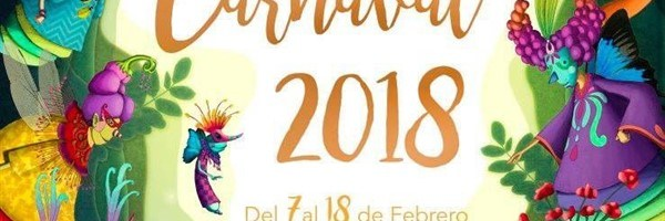 Programma Carnevale Santa Cruz de Tenerife, 2018