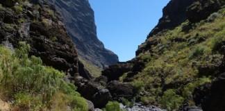 Il bellissimo tragitto del Barranco di Masca a Tenerife