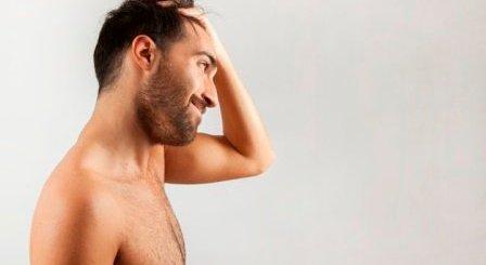Usando pelo de otras partes del cuerpo (BHT)