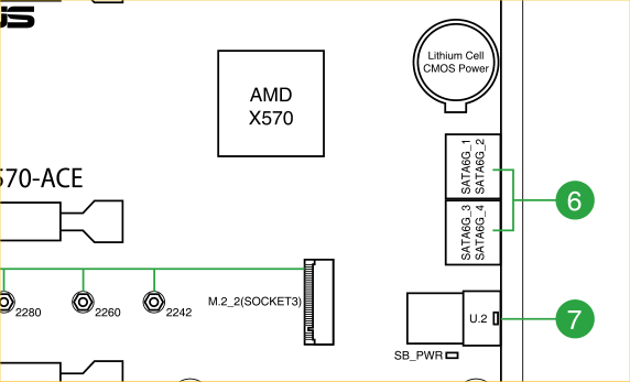 Can software tell me which SATA connector is used for a