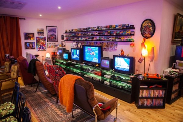 This retro game room is something out of a dream  Windows