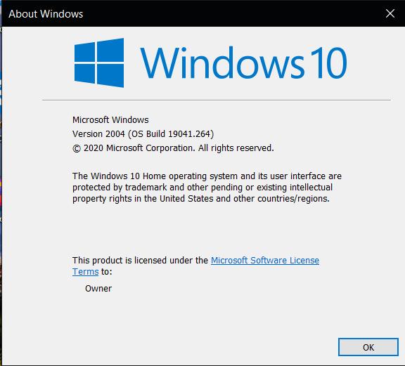Winver - Page 2 - Windows 10 Forums