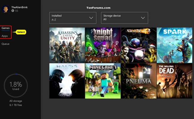 Uninstall Xbox One Games And Apps Tutorials