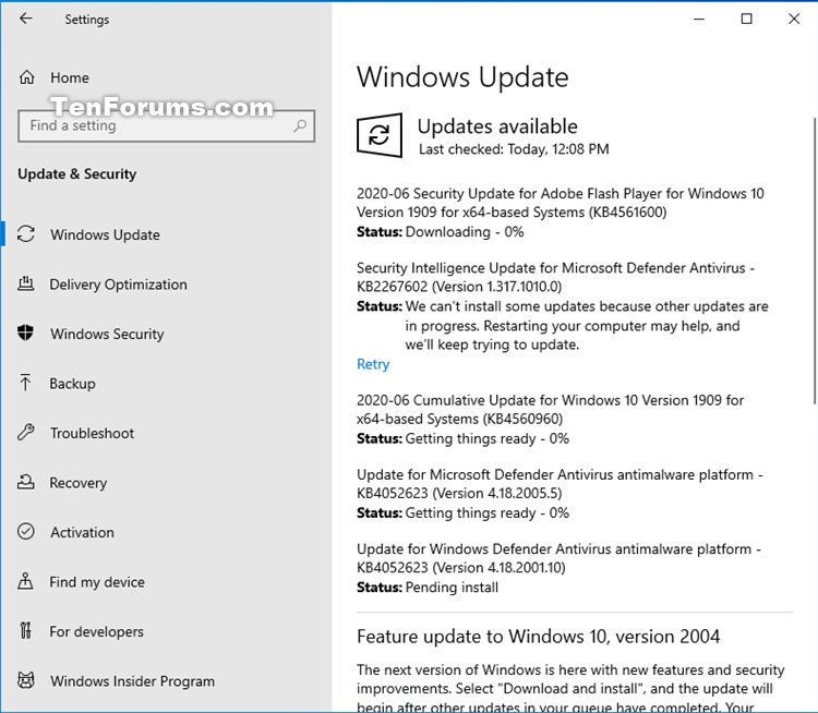 KB4561600 Security Update for Adobe Flash Player for Windows 10 June 9 Windows Update - Windows 10 Forums