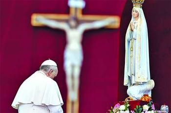 Francisco: María, una de las maravillas del Señor