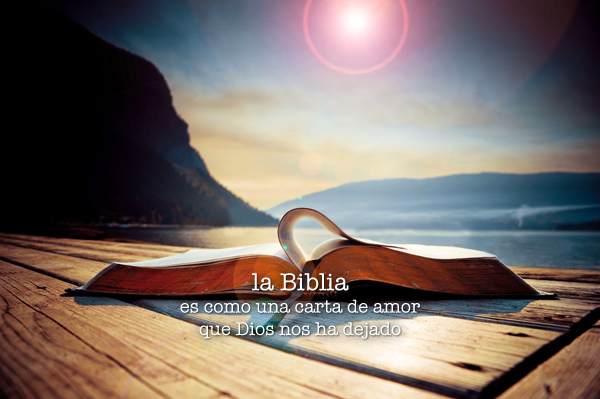 La Biblia, una carta de Dios