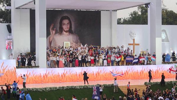 Vía Crucis con los jóvenes