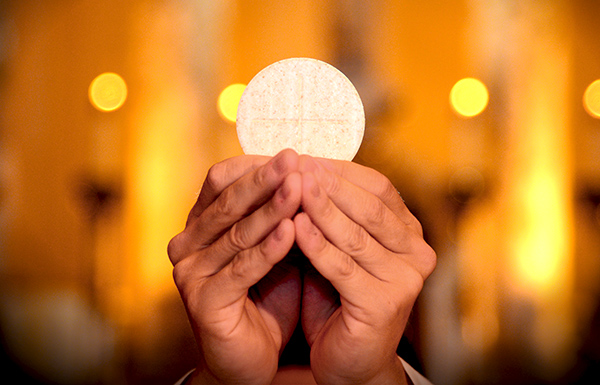 Gracias, Señor, por la Eucaristía