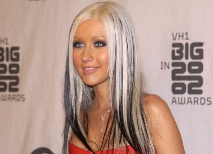 Christina Aguilera em 2002