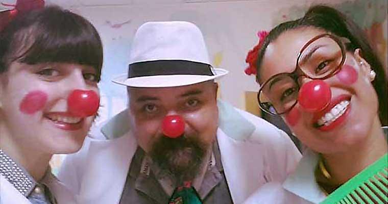 Continua la Clownterapia Ospedale Pertini di Roma