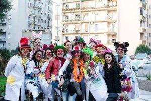 I clowns al Ospedale Santobono di Napoli per una giornata di Clownterapia