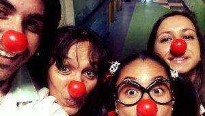 I nostri clown mattarelli al Pertini