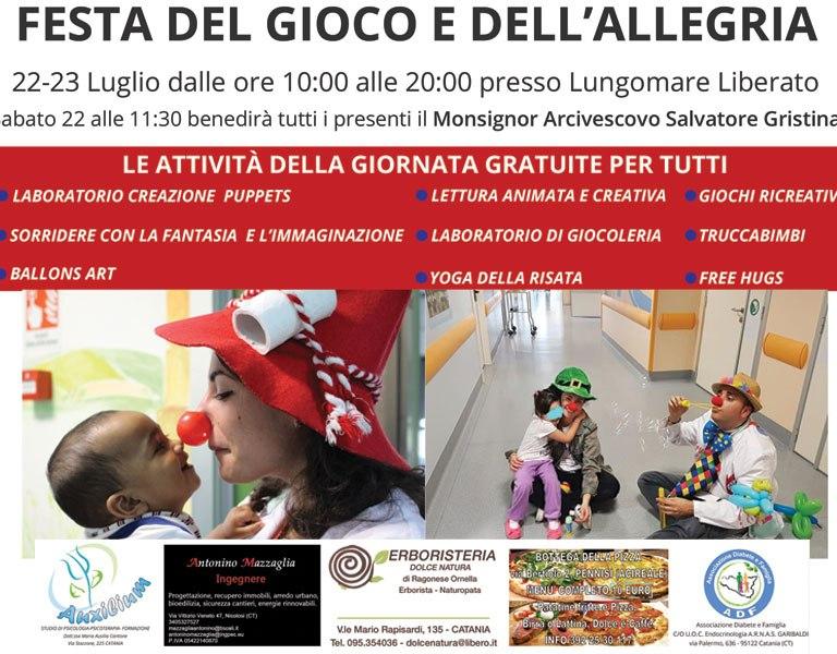 Catania: festa del gioco e dell'allegria