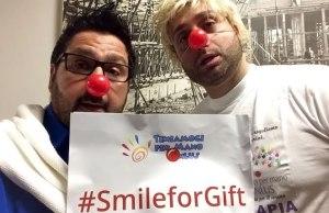 Ivano e Cristiano per Smile for Gift