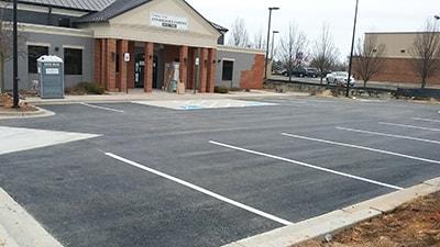 Parking lot Striping 1