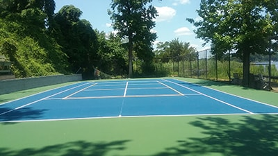 Tennis Court Applications