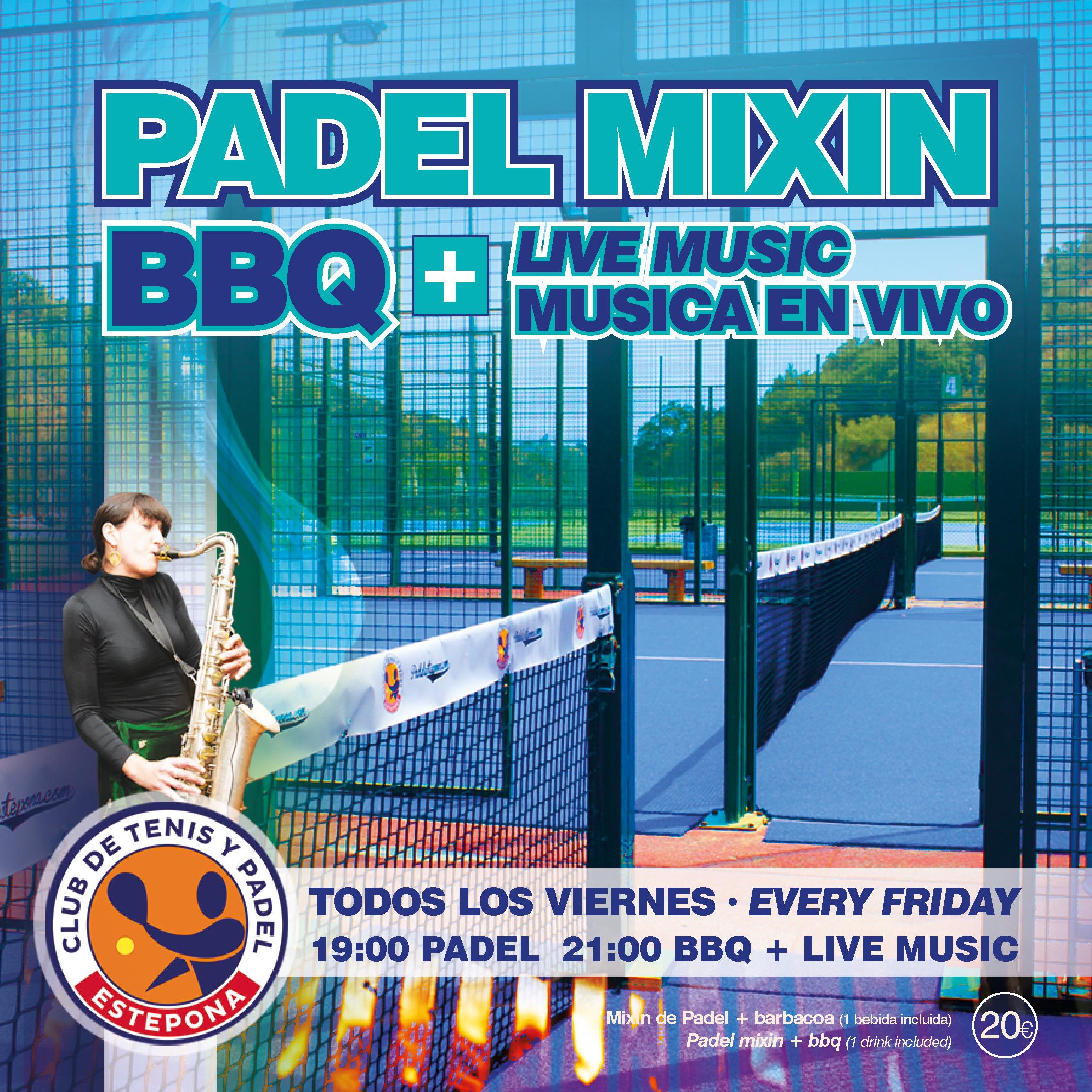 Musica en Vivo los viernes despues del mixin