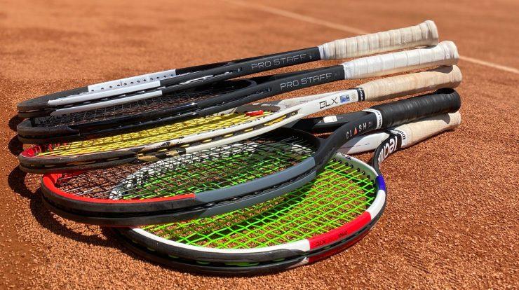 tenisové rakety pro rekreační tenisty