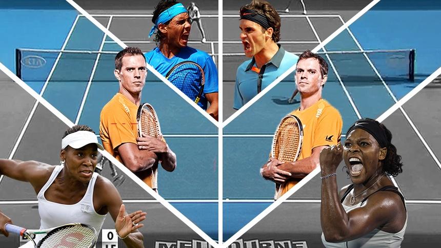 Australian Open Retrô: finais como nos velhos tempos
