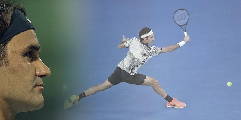 Roger Federer e Serena Williams na Federação Paulista de Tenis