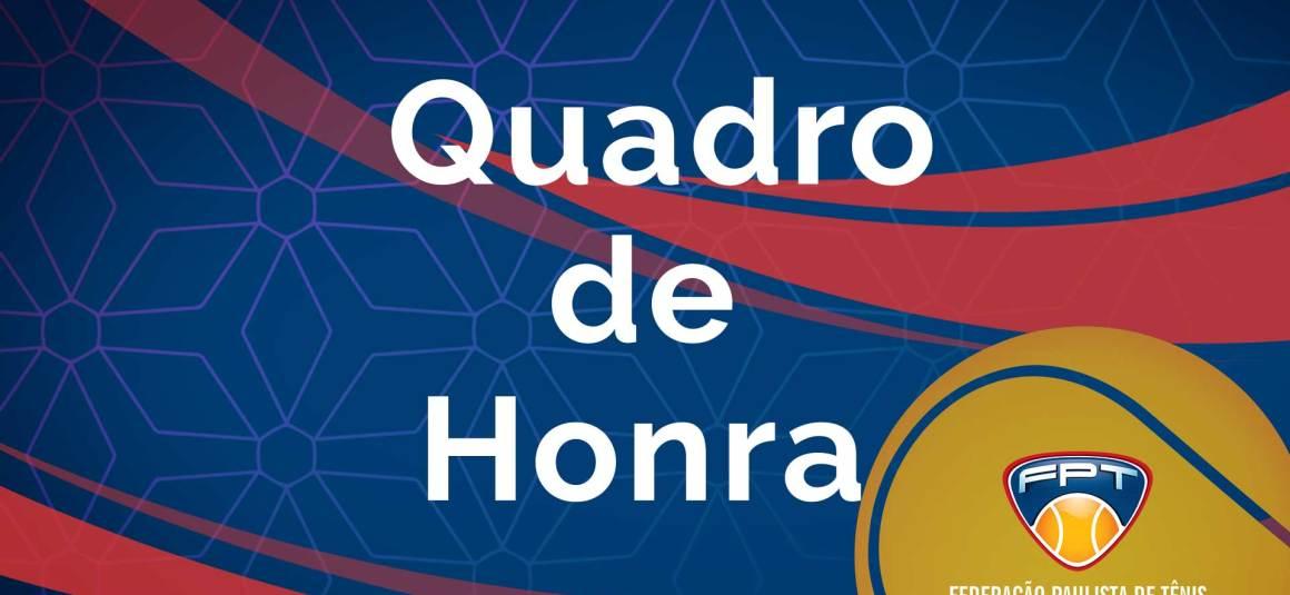 CONFIRA O QUADRO DE HONRA DO XLVI INDIANO OPEN DE TÊNIS