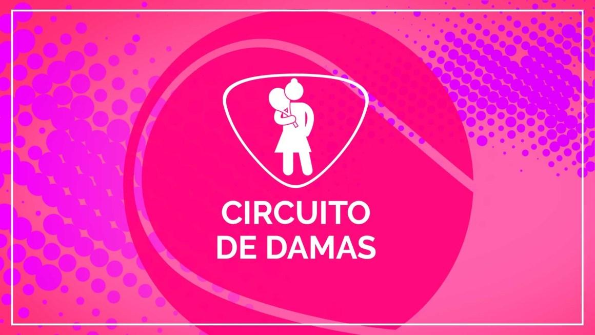 CIRCUITO DAMAS – MASTERS E COPA DAMAS