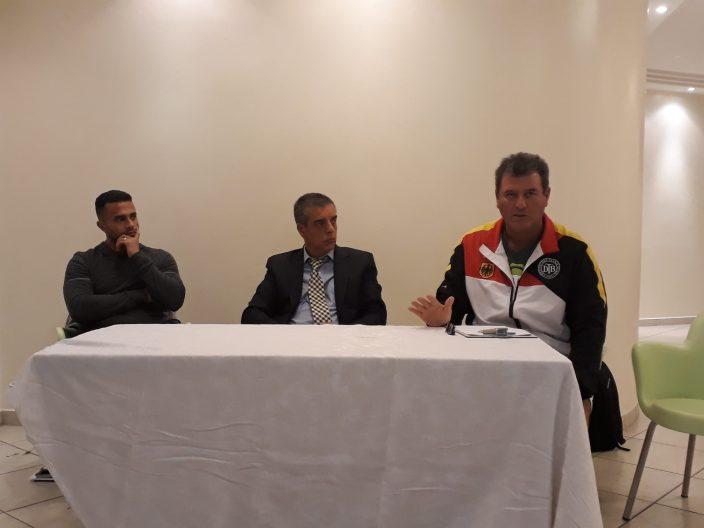 Eric Gomes, Luiz Fernando Balieiro e Jose Roberto Villegas