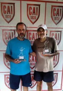 Indiano Open - Cat 65M Campeão Pedro Augusto Avancine e Vice-campeão Jose Tomas Pereira