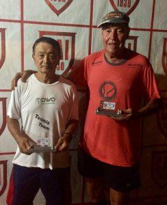 Indiano Open - Cat 70M - Campeão Rui Kanzi Narazaki e Vice Campeão Francisco Gomes da Silva Filho