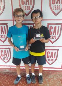 Indiano Open - Cat. 11M1 - Campeão Rafael de Barros Antão e Vice-campeão Tommy Kenzo Huang Matsumine