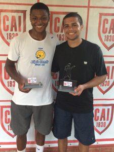 Indiano Open - Cat. 18M1 Campeão Felipe Jose P. Ribeiro Daniel Vice Campeão Andre Vitor L. Sundre