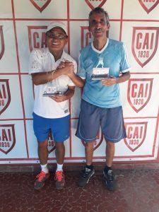 Indiano Open - Cat. 60MB - Campeão Hiroyuki Fukamizu e Vice- Campeão Geraldo Moreira Pinto