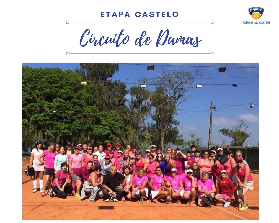 CLUBE DE CAMPO DO CASTELO SEDIA ETAPA DO CIRCUITO DE DAMAS