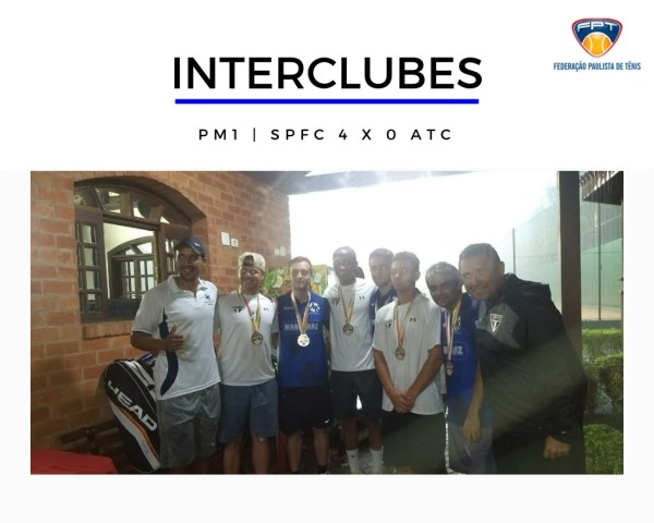 INTERCLUBES - FINAL PM1