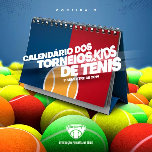 CALENDÁRIO DOS TORNEIOS KIDS – COPA FUTURO E SUPERVISIONADOS