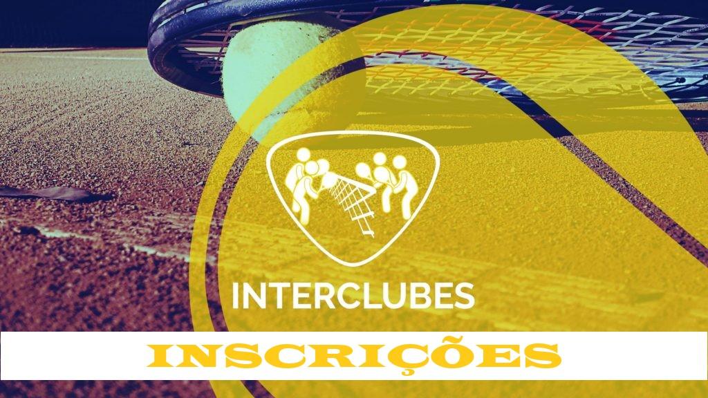 INSCRIÇÕES INTERCLUBES 2019 | 40MA, 40MB, 40MC, 65F, DF40/54 A, DF40/54B
