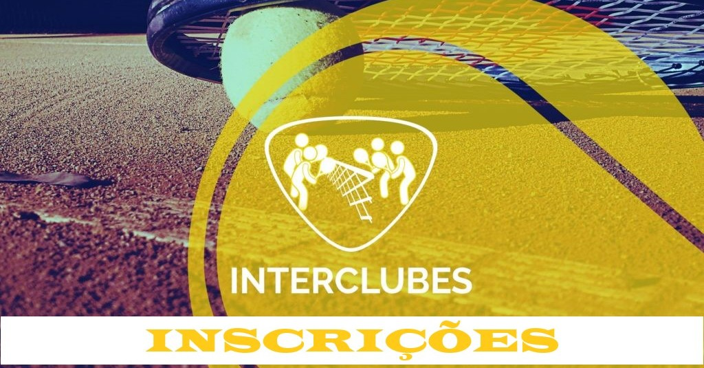INSCRIÇÕES INTERCLUBES 2019 | 50MA, 50MB, 50MC, 60F, DMT19/39A E DMT19/39B