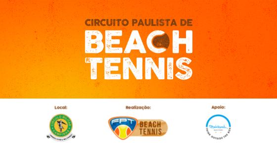 CIRCUITO PAULISTA DE BEACH TENNIS – 1ª ETAPA – QUADRO DE HONRA