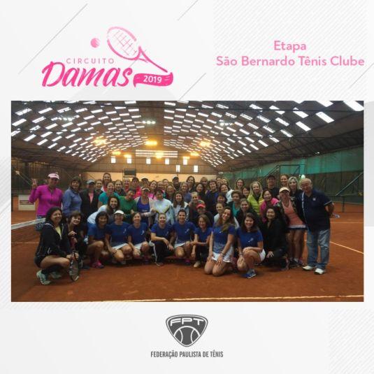 CIRCUITO DAMAS 2019 – ETAPA SÃO BERNARDO TÊNIS CLUBE