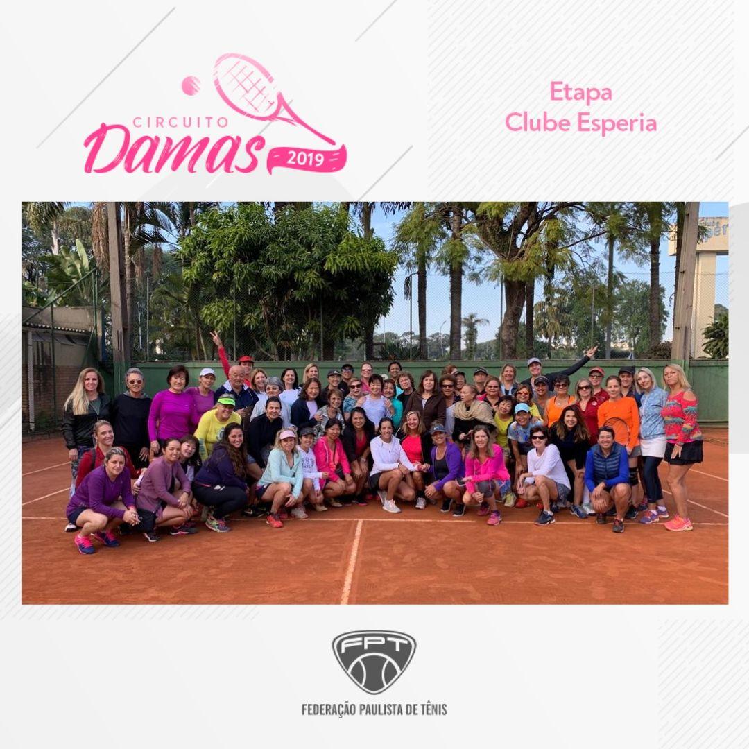 CIRCUITO DAMAS 2019 – ETAPA CLUBE ESPERIA