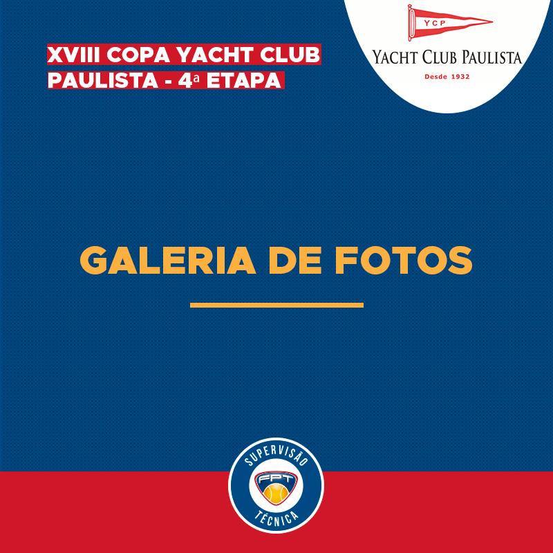 GALERIA DE FOTOS – XVIII COPA YACHT CLUB PAULISTA – 4ª ETAPA